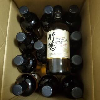 ニッカウイスキー(ニッカウヰスキー)の竹鶴 ピュアモルト 700ml 12本セット(ウイスキー)