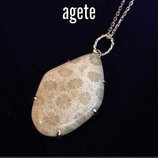 agete - 【週末限定値下げ】美品 agete Autumn Collection 希少