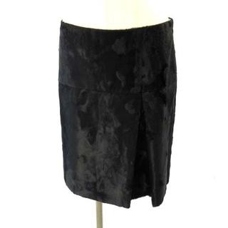 ストラスブルゴ STRASBURGO 台形スカート 黒 ブラック 40 M(その他)