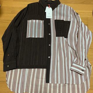 メゾンキツネ(MAISON KITSUNE')のMaison Special アシンメトリービッグシャツ(シャツ/ブラウス(長袖/七分))