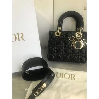 Christian Dior - レディディオール バッグ カナージュ ラムスキン