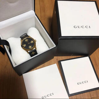 Gucci - 美品 高級 グッチ 時計 Gタイムレス ビー スター 38MM メンズ