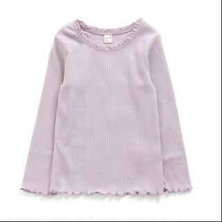 エフオーキッズ(F.O.KIDS)のアプレレクール 衿レースリブTシャツ(Tシャツ/カットソー)