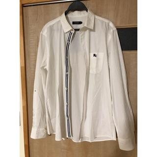 バーバリーブラックレーベル(BURBERRY BLACK LABEL)の美品 バーバリーブラックレーベル 長袖シャツ(Tシャツ/カットソー(七分/長袖))