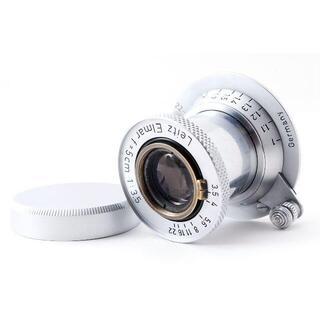 Leica Elmar 5cm F3.5 赤エルマー【希少品】(レンズ(単焦点))