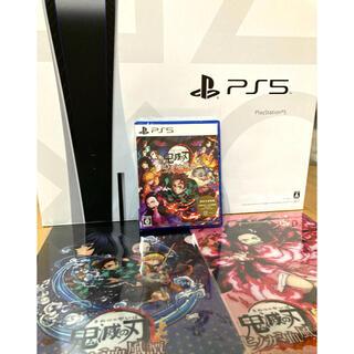 PlayStation - PlayStation5  ヒノカミ 鬼滅 PS5  SONY ファイル2枚付