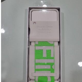 SAMSUNG - 即日発送 Galaxy Z Flip3 シリコンケースwithベルト