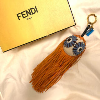 FENDI - フェンディ FENDI  フリンジ バッグ チャーム