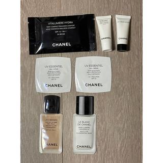 シャネル(CHANEL)のCHANEL シャネル ファンデーション 日焼け止め ベース 美白クリーム新品♪(化粧下地)