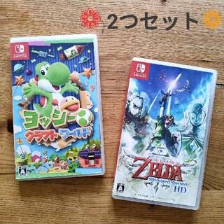 Nintendo Switch - 2点セット Switchソフト ヨッシー ゼルダ
