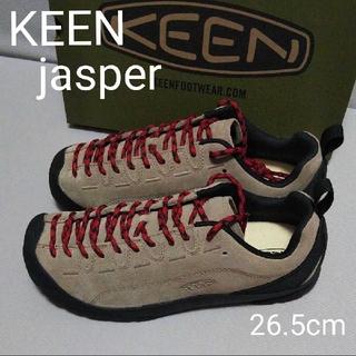 KEEN - 新品☆KEENキーン jasperジャスパー スニーカー 26.5シルバーミンク
