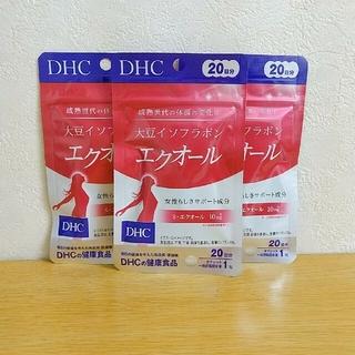 DHC - DHC 大豆イソフラボン エクオール 20日分 3袋