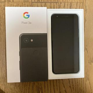 グーグル(Google)のGoogle Pixel 3a 64GB black[KYN様専用](スマートフォン本体)
