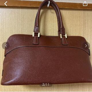 ミラショーン(mila schon)の ☆美品☆ミラショーン トートバッグ ブラウン (ハンドバッグ)