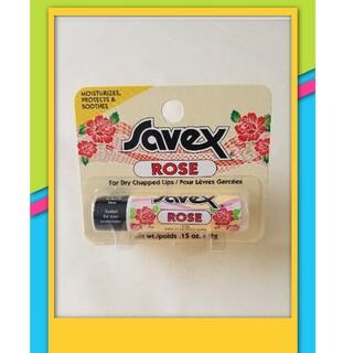 Savex - サベックス リップクリーム  ☆ ローズ☆