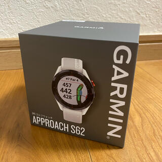 GARMIN - ガーミン s62  ホワイト 未使用