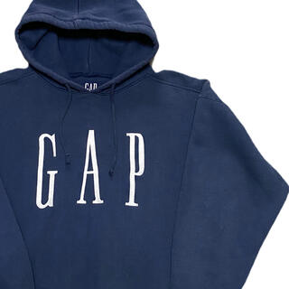 GAP - 90's GAP パーカー フーディー オールドギャップ 細ロゴ