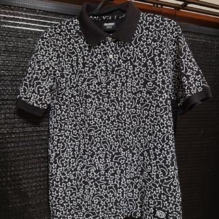 ステューシー(STUSSY)のステューシー ポロシャツ黒(ポロシャツ)