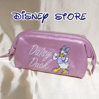 Disney - ディズニーストア デイジー 化粧ポーチ メイクポーチ 中古品