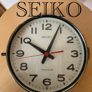 SEIKO - SEIKO セイコー バス時計 アンティーク レトロ 昭和 当時物 古物❤️