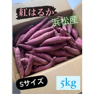 #4 紅はるかSサイズ  静岡県浜松産 小さめ  さつまいも 5kg