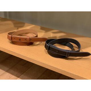 SUNSEA - 即完売 sunsea  stitch belt サンシー  ベルト