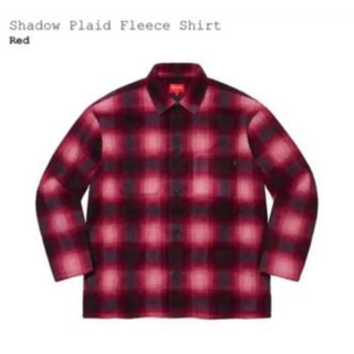 Supreme - supreme Shadow Plaid Fleece Shirt 20FW