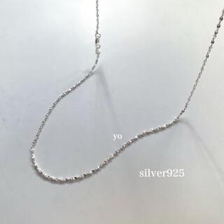 ロンハーマン(Ron Herman)のsilver925  スモールチェーンネックレス(ネックレス)