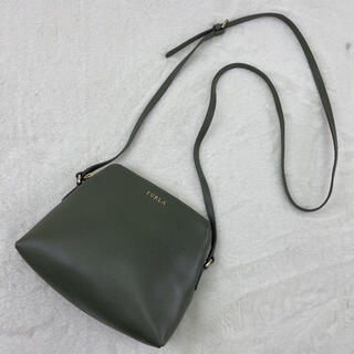 Furla - 極美品⭐️FURLA ショルダーバッグ ボエム ポシェット レザー 金ロゴ 黒