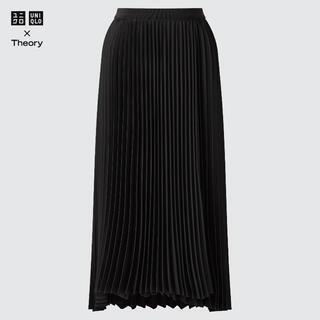 UNIQLO - UNIQLO×Theory プリーツラップスカート XS