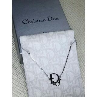 Christian Dior - 美品☆ディオール★アイコンネックレス★シルバーカラー
