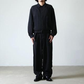 コモリ(COMOLI)の【23日まで!】COMOLIシルクネップジャンプスーツ サイズ1(サロペット/オーバーオール)
