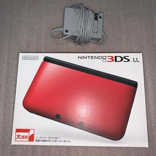 ニンテンドー3DS - 任天堂 3DSLL本体 レッドブラック
