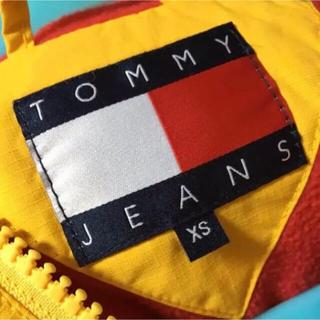 トミーヒルフィガー(TOMMY HILFIGER)の美品  TOMMY JEANS  アノラックナイロンジャケット(ナイロンジャケット)