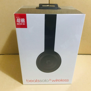 Beats by Dr Dre - Beats by Dr.Dre solo3 wireless マットブラック