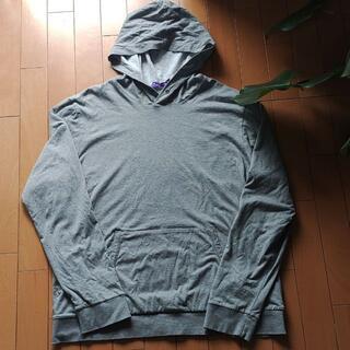 ラルフローレン(Ralph Lauren)のRALPH LAUREN purple label グレーパーカー(パーカー)