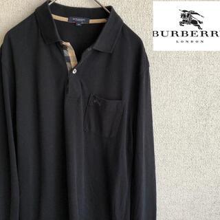 BURBERRY - Burberry London ノバチェック長袖 ポロシャツ バーバリーロンドン
