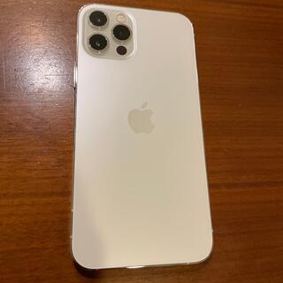 Apple - 【美品】SIMフリー iPhone12Pro 256GB シルバー 画面傷無し