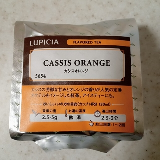 ルピシア(LUPICIA)のMomo様専用☆ルピシア カシスオレンジ 紅茶 茶葉 50g(茶)
