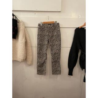 A.P.C - A.P.C. leopard pants.25日までお取り置き🧡