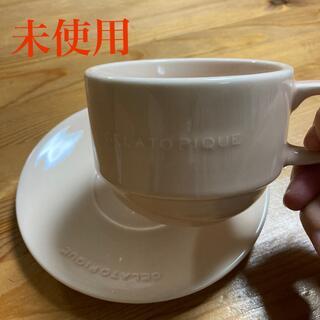 ジェラートピケ(gelato pique)の未使用 カップ&ソーサー ジェラートピケ(グラス/カップ)