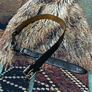 DOLCE&GABBANA - Dolce&Gabbana vintage leather belt