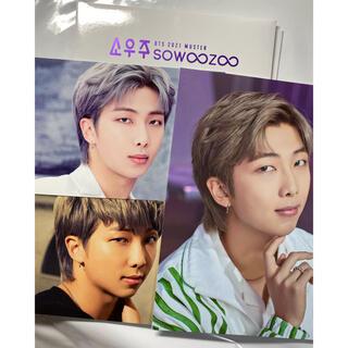 防弾少年団(BTS) - BTS BEST 展示会 ポストカード RM ナム ソウジュ SOWOOZOO