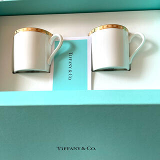 Tiffany & Co. - 【未使用】ティファニー ペアマグカップ