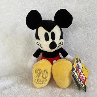 ミッキーマウス(ミッキーマウス)のディズニーストア ミッキー 90周年 ミッキーのライバル大騒動 ぬいぐるみ(ぬいぐるみ)