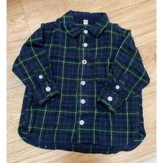 ムジルシリョウヒン(MUJI (無印良品))の無印良品 シャツ トップス 長袖 80cm(シャツ/カットソー)