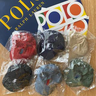 POLO RALPH LAUREN - ポロラルフローレン ミニキャップ キーホルダー全6色コンプセット&ステッカー2枚