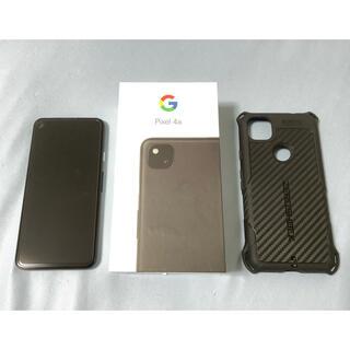 Google Pixel - Pixel 4a ブラック 128GB simフリー 中古美品 おまけ付き