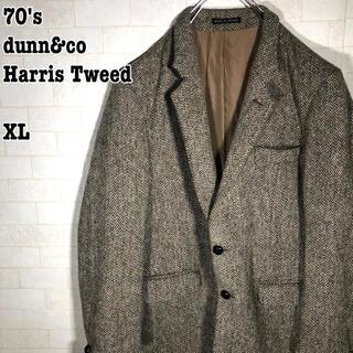 ハリスツイード(Harris Tweed)の希少 70s 英国製 dunn & co ハリスツイード ジャケット(テーラードジャケット)