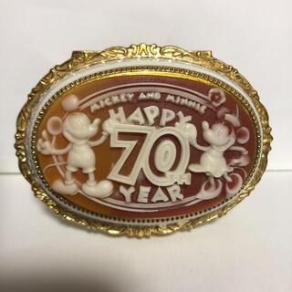Disney - 【美品】ディズニー 70周年記念 ジュエリーボックス/オルゴール カメオ風